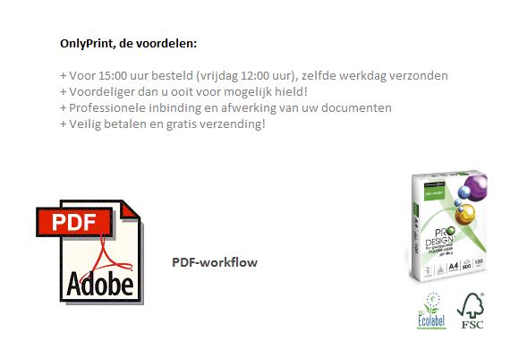 online printen